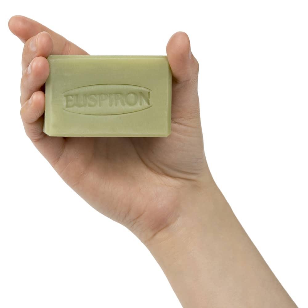 Vertifleur Seife grün handgemacht mit Spirulina