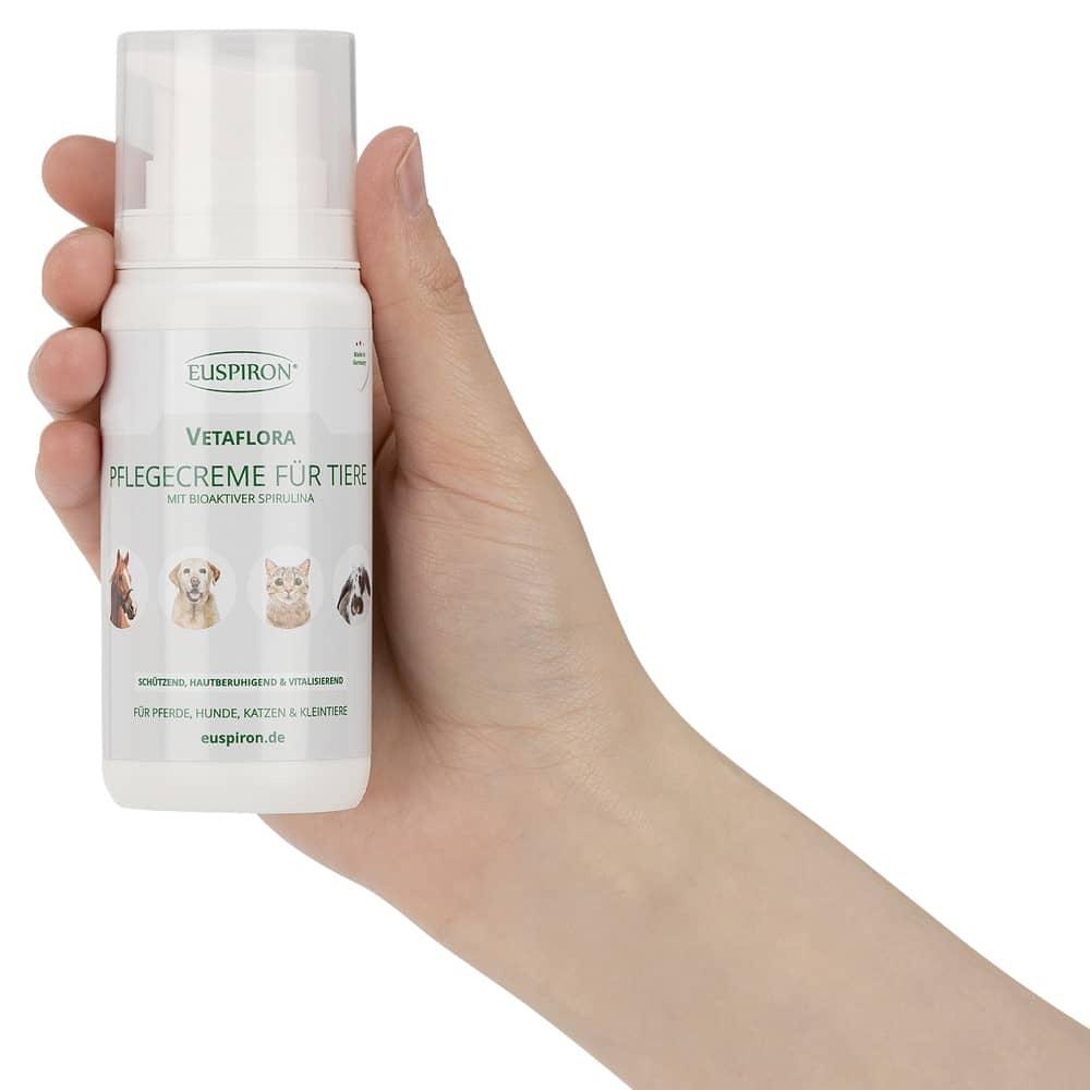Vetaflora Tierpflegecreme mit Spirulina (100 ml)