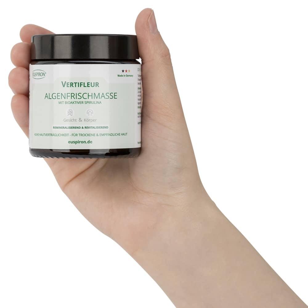 Vertifleur Algenfrischmasse mit 100% Spirulina (100 ml)