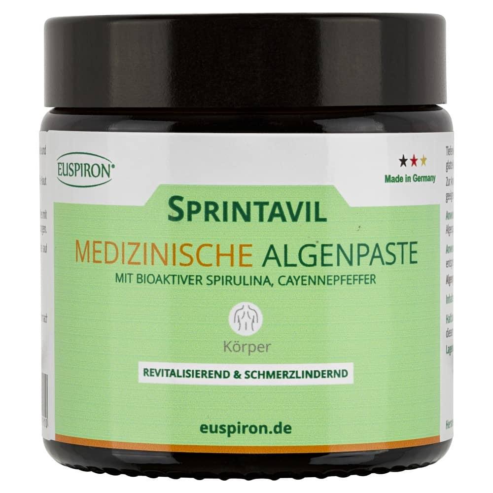 Sprintavil Medizinische Algenpaste Mini mit Spirulina (100 ml)